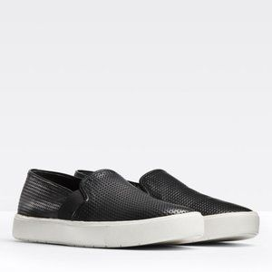 Vince 10M Perforated Leather Blair Sneaker Slip On
